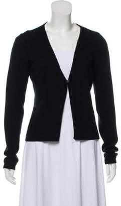 Gucci Cashmere Open Front Cardigan