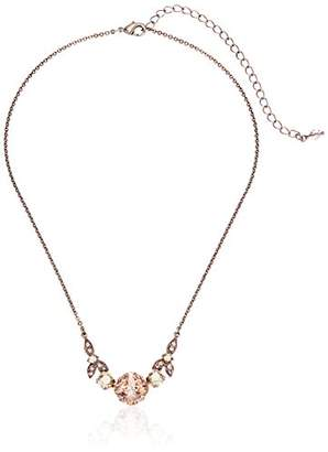 Sorrelli Satin Blush Decidedly Deco Pendant Necklace