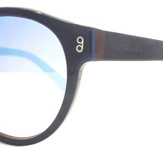 Hook LDN 26HK013-NVY Shiny Navy Sunglasses