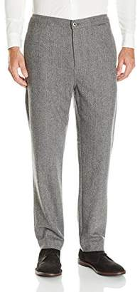 Baldwin Men's Noah-Drawstring Pant with Flap Pockets