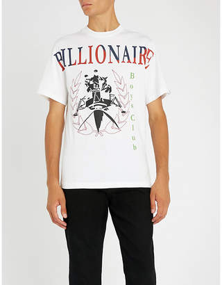 Billionaire Boys Club Lander Souvenir screen-printed cotton-jersey T-shirt