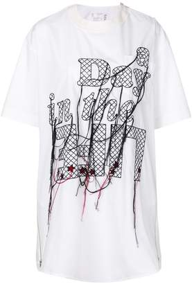Sacai A Day in the Life T-shirt