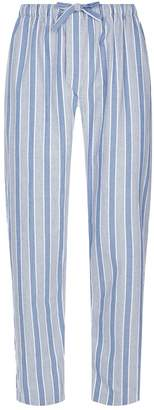 Derek Rose Brushed Cotton Striped Pyjama Trousers