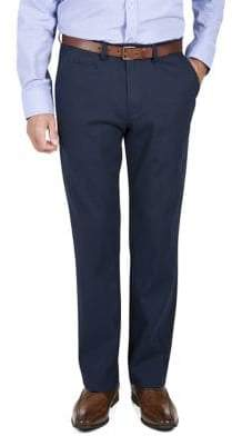 Haggar Heritage Straight-Fit Micro Neat Casual Pants