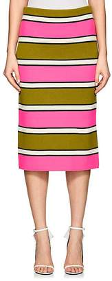Marc Jacobs Women's Striped Cashmere Pencil Skirt