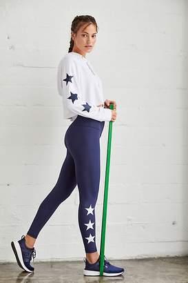 Strut This High-Rise Ankle Length Teagan Star Legging