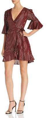 Show Me Your Mumu Leslie Mini Wrap Dress