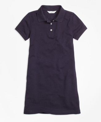 Brooks Brothers Girls Short-Sleeve Polo Dress