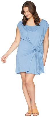 Becca by Rebecca Virtue Plus Size Breezy Basics Dress Cover-Up Women's Swimwear