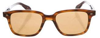 Garrett Leight Westminster Tinted Sunglasses