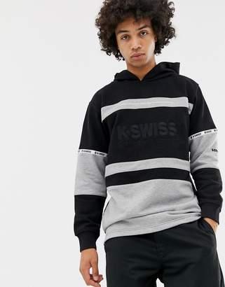 K-Swiss Richmond Oversized Hoodie In Black