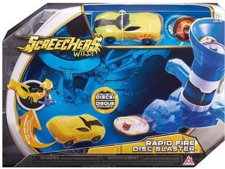 Screechers Screechers Wild - Rapid Fire Disc Blaster