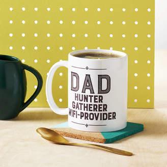 Hunter Owl & Otter 'Dad Hunter, Gatherer, Wifi Provider' Mug