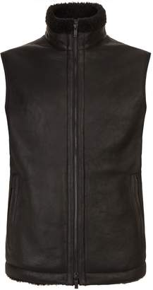 Ermenegildo Zegna Down Padded Leather Gilet