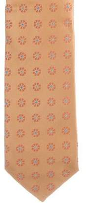 Charvet Floral Print Silk Tie