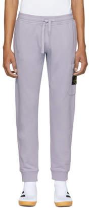 Stone Island Purple Pocket Sweatpants