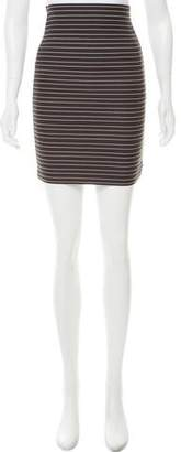 Boy By Band Of Outsiders Striped Pencil Skirt