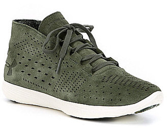 Under Armour Women's Street Precision Mid Luxe Shoes $109.99 thestylecure.com