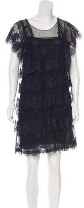 Stella McCartney Tiered Lace Dress