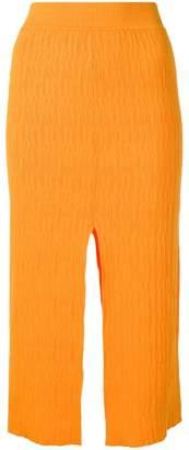 Simon Miller slit detail pencil skirt