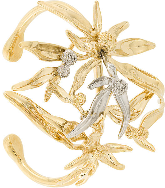 Aurelie BidermannAurelie Bidermann Mimosa cuff bracelet