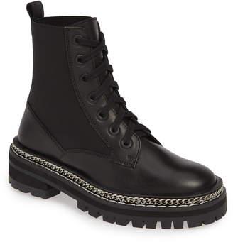 Topshop Ashton Chain Moto Boot