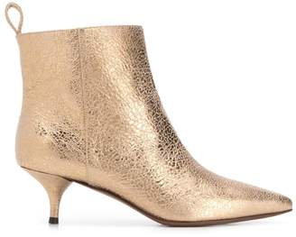 L'Autre Chose pointed toe ankle boots