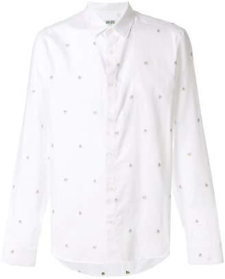 Kenzo printed button shirt