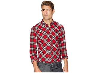 Publish Chet - Long Sleeve Flannel Men's Long Sleeve Button Up