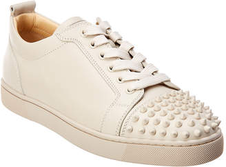 Christian Louboutin Louis Spike Leather Sneaker