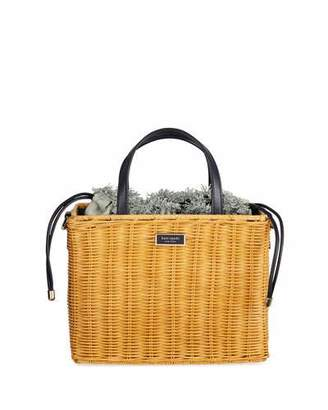 Kate Spade Sam Wicker Medium Satchel Bag