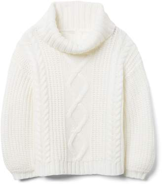 Crazy 8 Crazy8 Cable Turtleneck Sweater