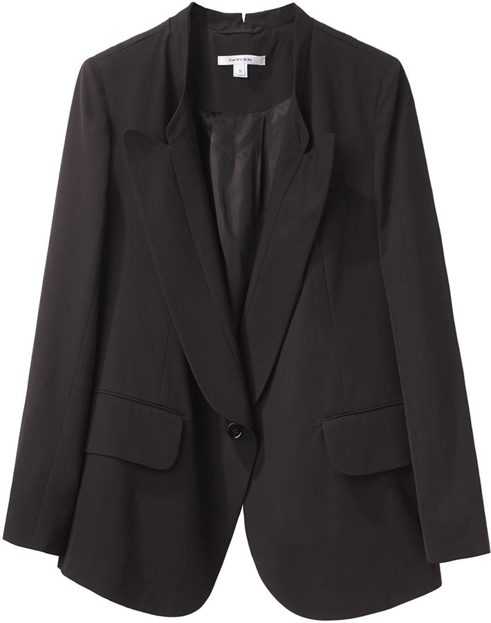 Carven / Single Button Blazer