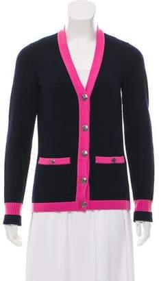 Chanel Cashmere V-Neck Cardigan