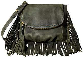 Cynthia Vincent Autum Fringe Cross Body Bag
