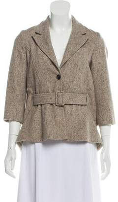 Opening Ceremony Notch-Lapel Wool Jacket
