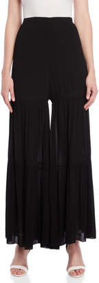 Roberto Collina Tiered Wide Leg Pants
