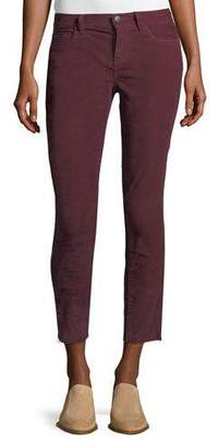 Current/Elliott The Stiletto Corduroy Skinny-Leg Ankle Jeans