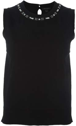 Marc Jacobs embellished tank top