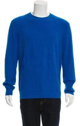 Hermes Cashmere-Blend Crew Neck Sweater