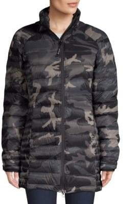 Canada Goose Brookvale Quilted Camo Puffer Jacket