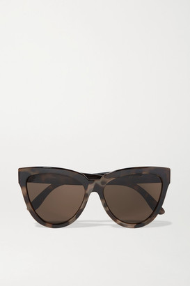 Le Specs - Liar Lair Cat-eye Tortoiseshell Acetate Sunglasses $60 thestylecure.com