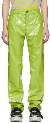 Ottolinger Green Pleather Trousers