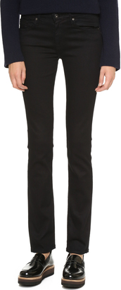 AG The Harper Essential Straight Leg Jeans $188 thestylecure.com