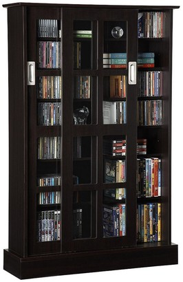 Atlantic Windowpane Multimedia Cabinet