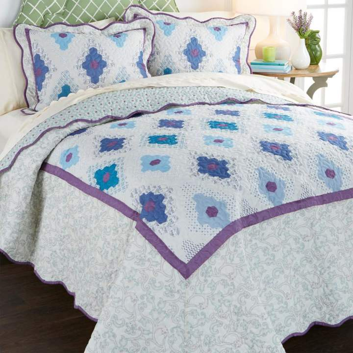 Madcap Cottage Autumn in New England 3-piece 100% Cotton Quilt Set