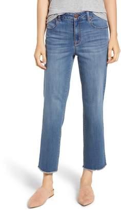 1822 Denim Ankle Straight Leg Jeans