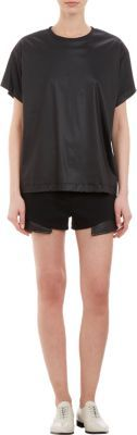Alexander Wang Back-slit Chintz Tee