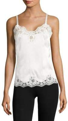 Dolce & Gabbana Lace-Trimmed Camisole