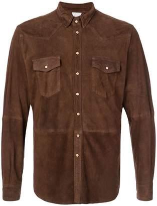 Eleventy suede shirt